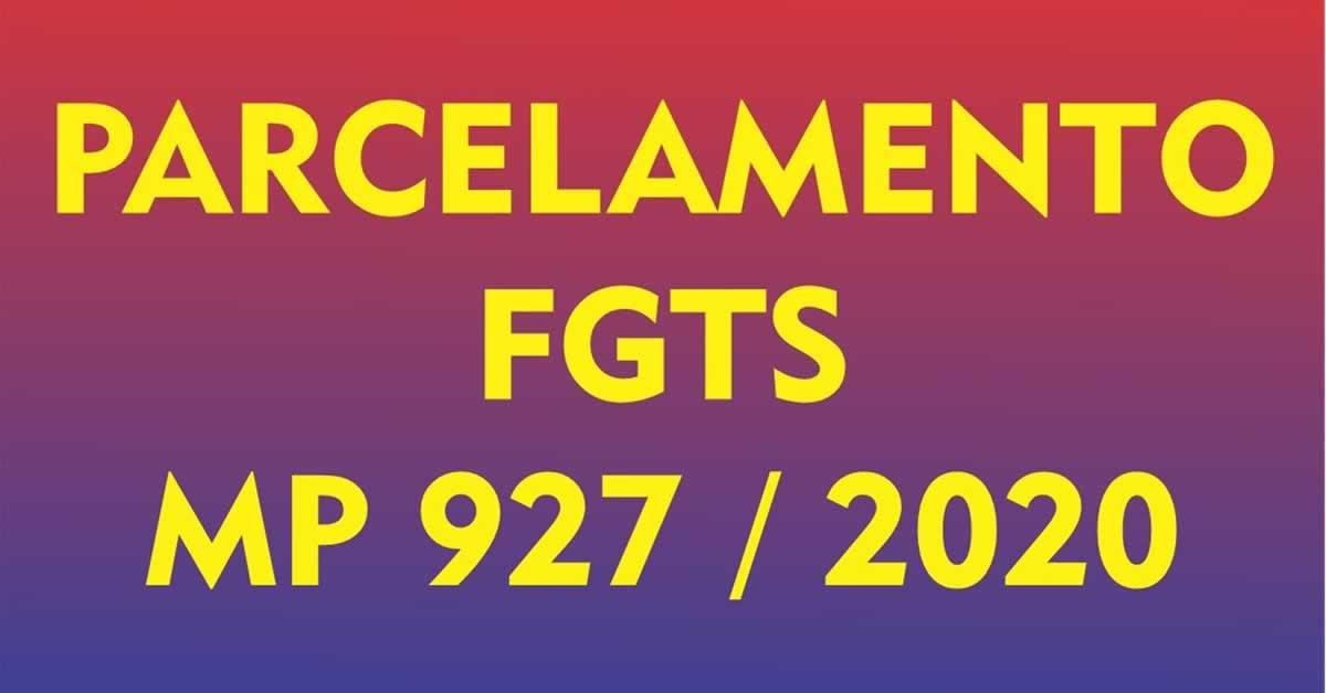 Parcelamento do FGTS pode ser prorrogado