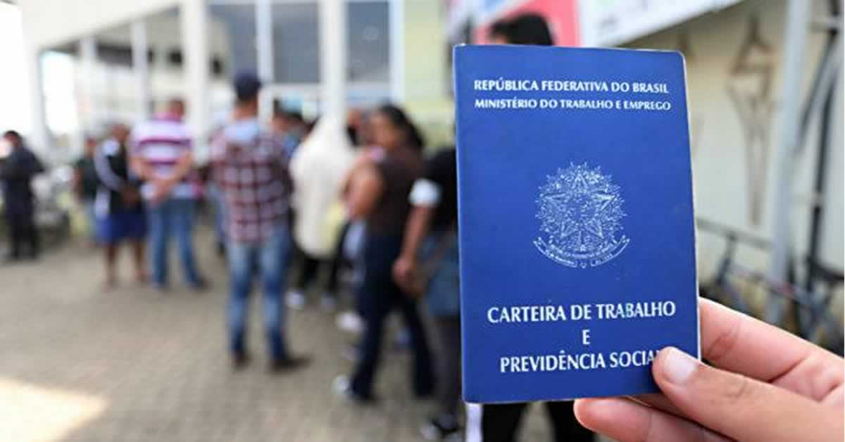 Brasil fecha junho com saldo positivo de 309 mil empregos formais criados