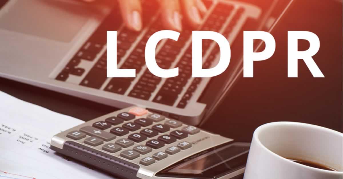 Entenda como entregar o LCDPR