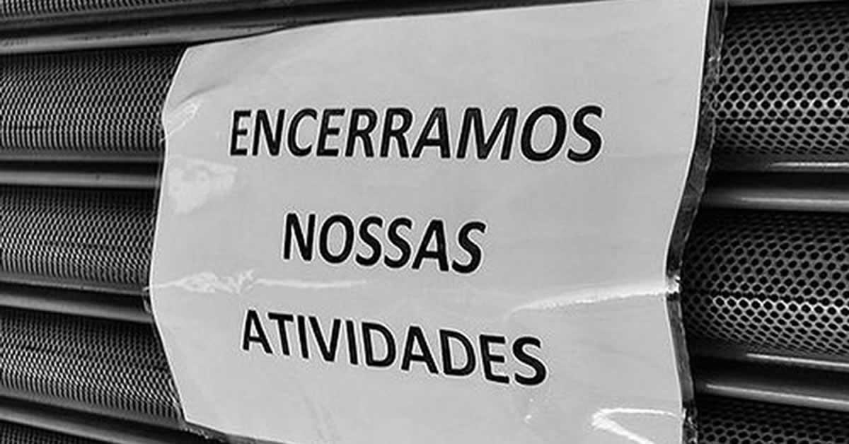 Pelo 5º ano seguido, Brasil fecha mais empresas do que abre