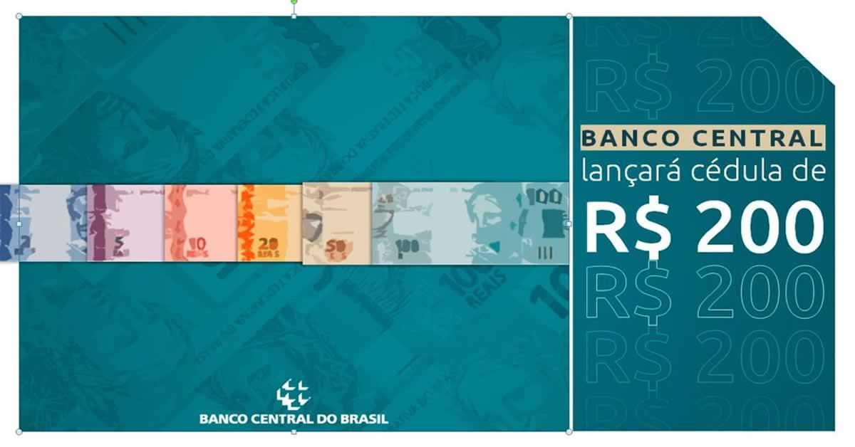 R$ 200: Entenda porquê o banco central decidiu lançar a cédula