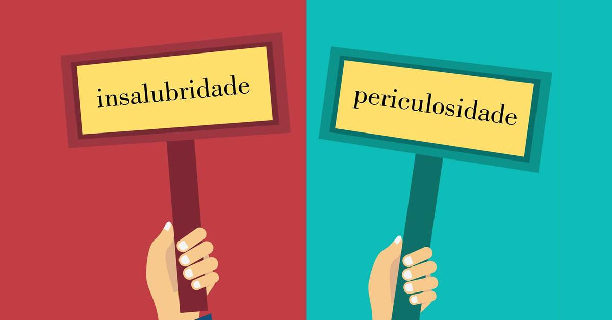 Qual a diferença entre o adicional de insalubridade e o de periculosidade?