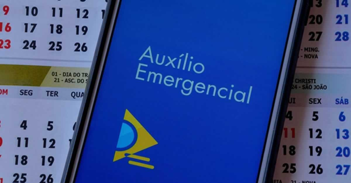 Calendário de pagamentos do Auxílio Emergencial até 2021