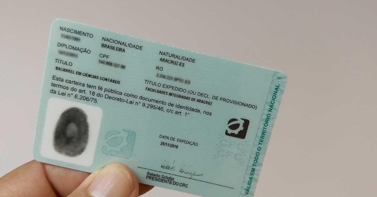 Carteira CRC: tire suas dúvidas sobre esse documento