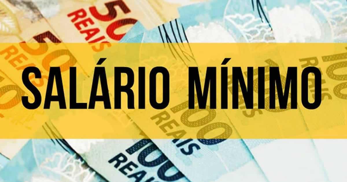 Governo deve reajustar salário mínimo de R$ 1.100 para R$ 1.102 até o fim de janeiro