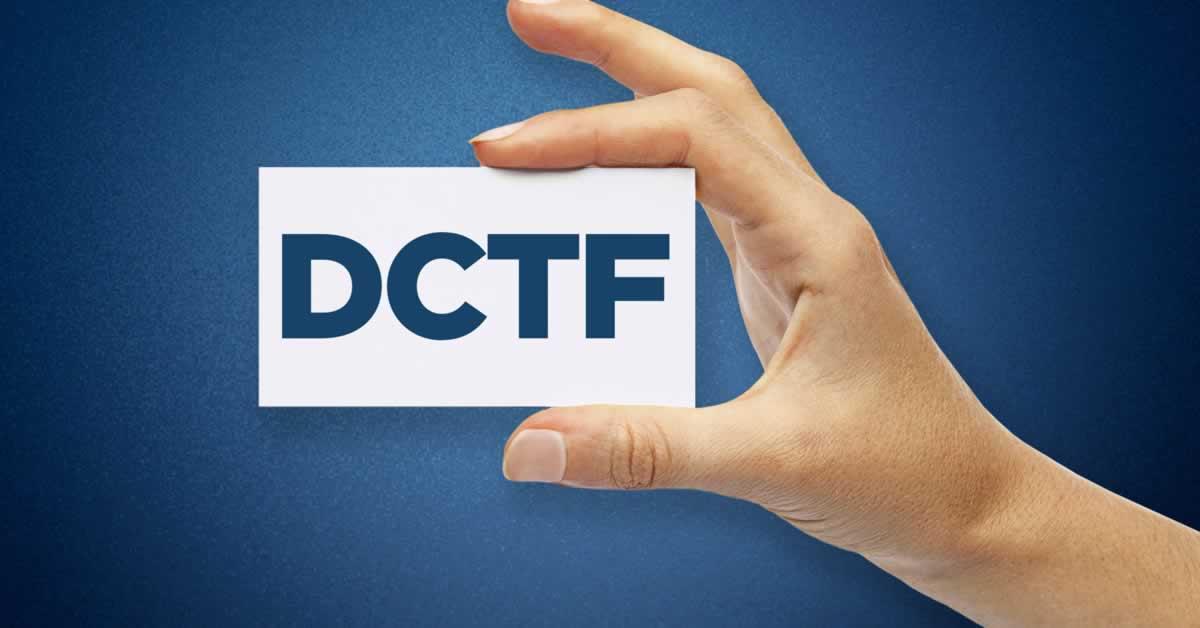 Nova versão do PGD DCTF está disponível para download