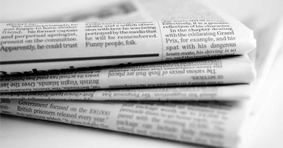 Lei volta a exigir divulgação de editais de licitação em jornais