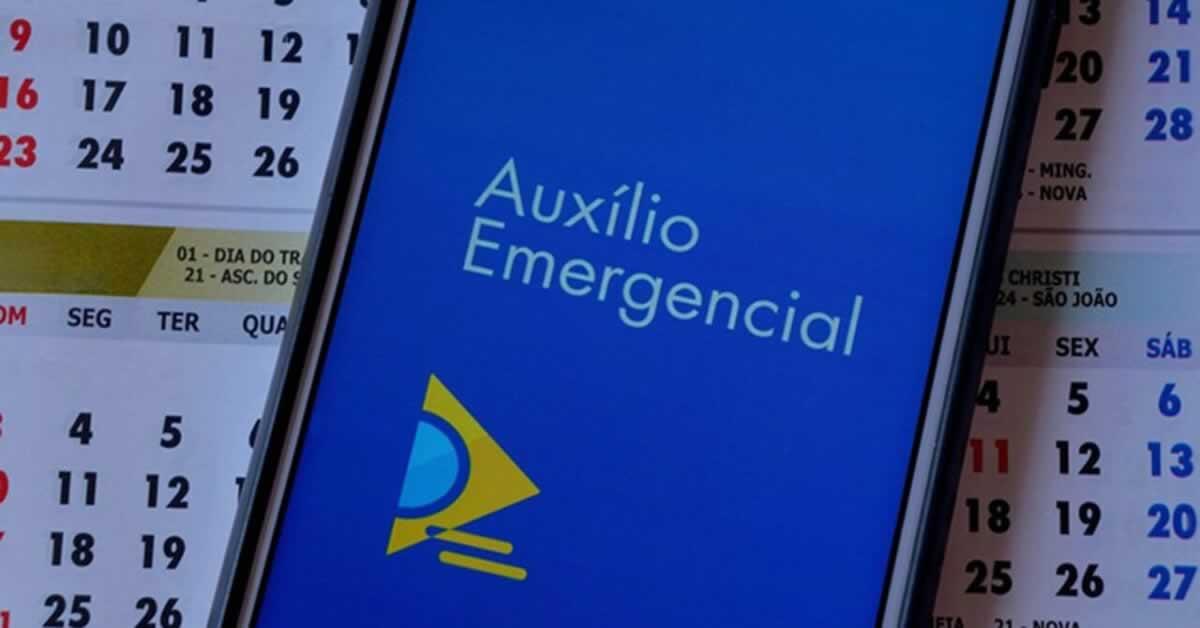 Confira o calendário de pagamento do Auxílio Emergencial nesta semana